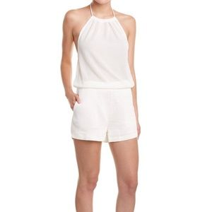 Endless Rose Mesh Halter Romper